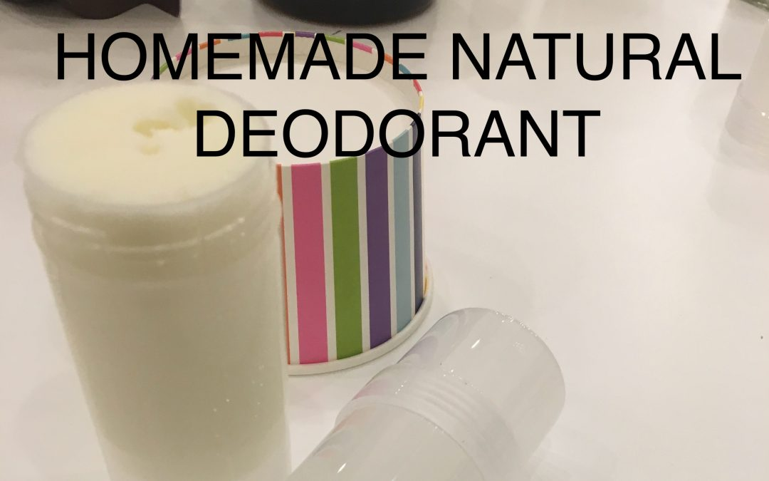Homemade Deodorant that actually works