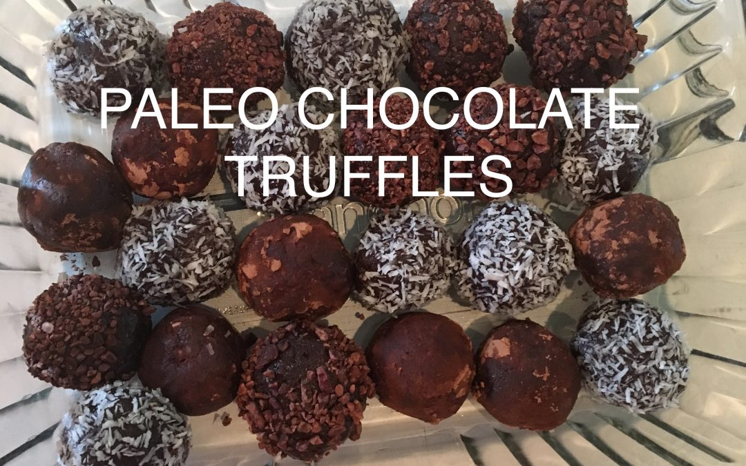 Paleo Chocolate Truffles (that will change your life!)