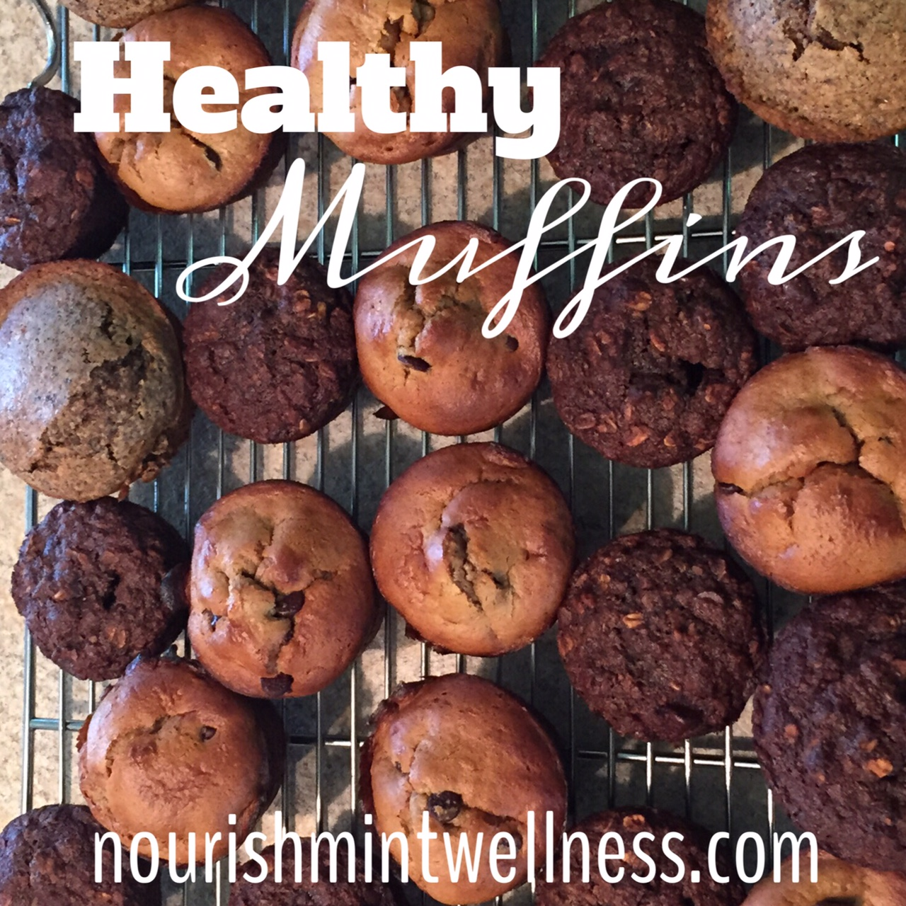 Healthy Muffins for the Freezer