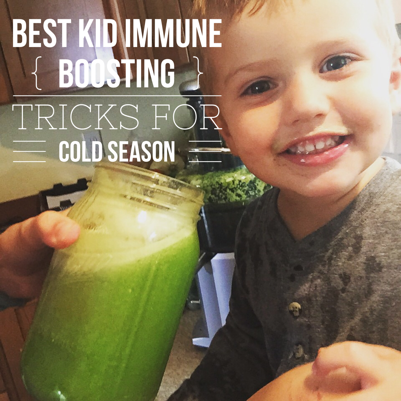 Keeping your child HEALTHY through cold and flu season