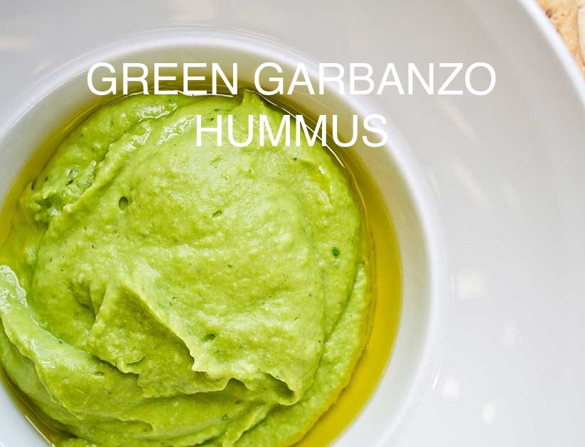 Garden Green Garbanzo Bean Hummus