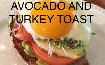 Avocado and Turkey Toast