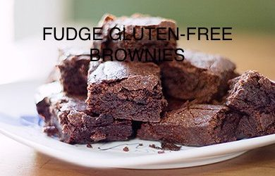 Fudge Gluten-free Brownies