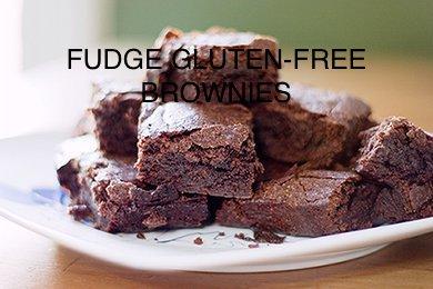 Fudge Gluten-free Brownies