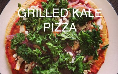 Kale Pizza on the Grill (Gluten/Dairy Free)