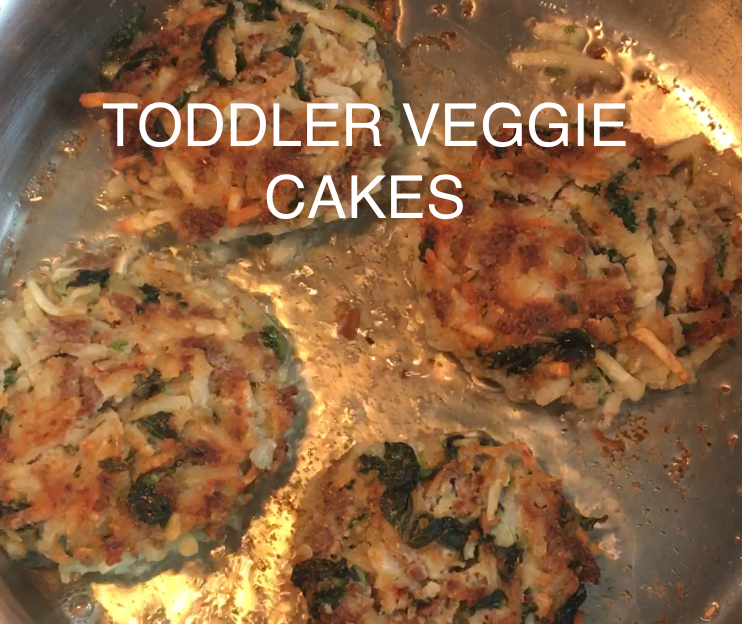 Toddler Veggie Cakes