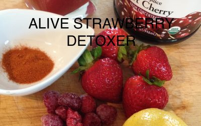 Alive – Strawberry Detoxer (16oz)
