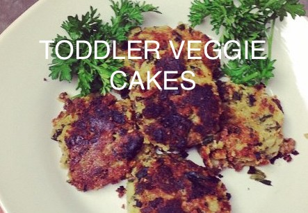 Toddler Veggie Cakes