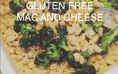 Gluten Free + Dairy Free Mac and Cheese