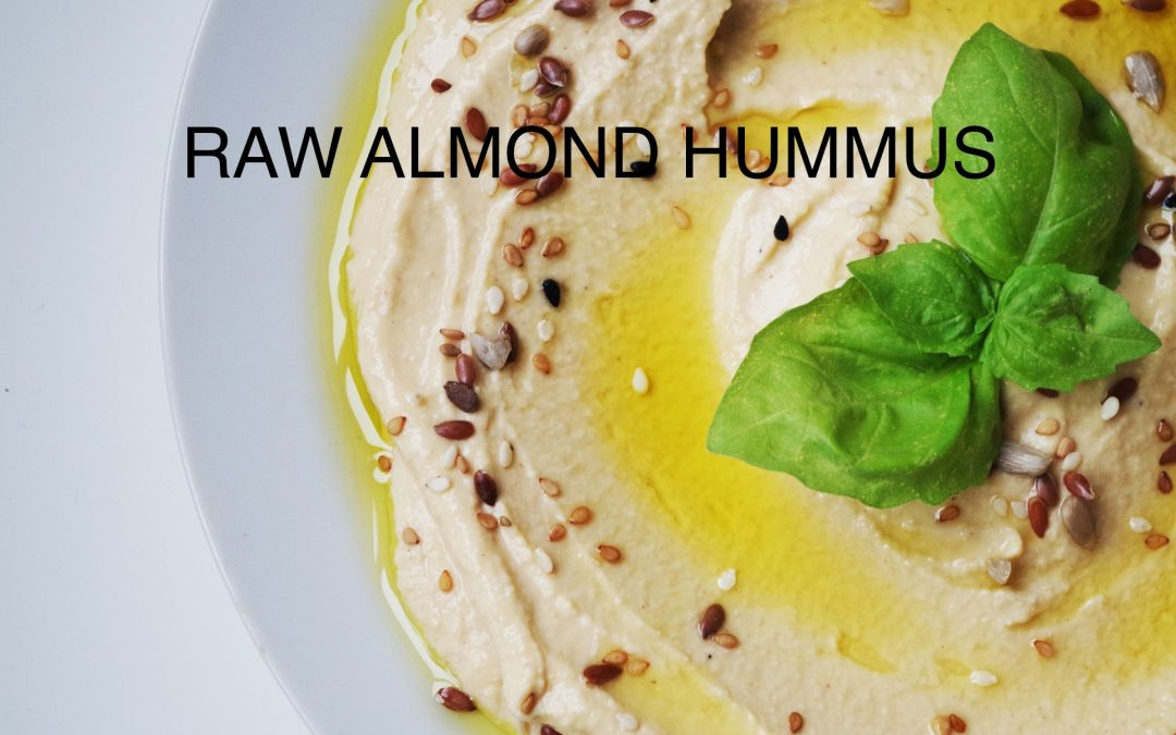 Almond Hummus (Cilantro Chili Bitchin' Sauce)