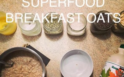 Superfood Breakfast Oats