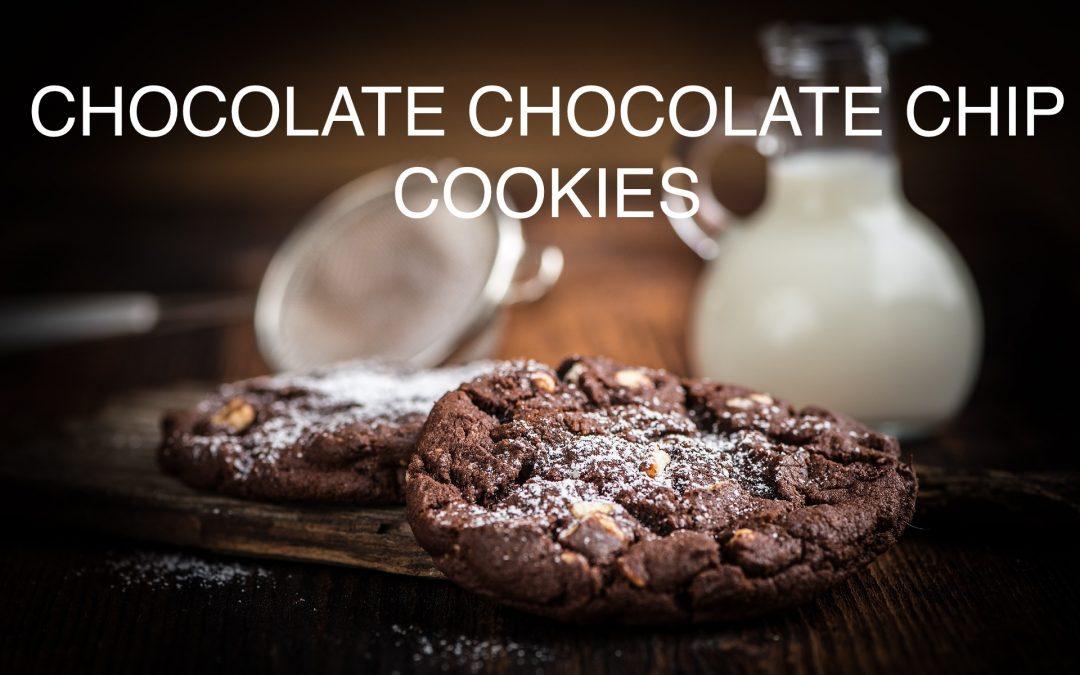 Chocolate Chocolate Chip Cookies (gluten-free)