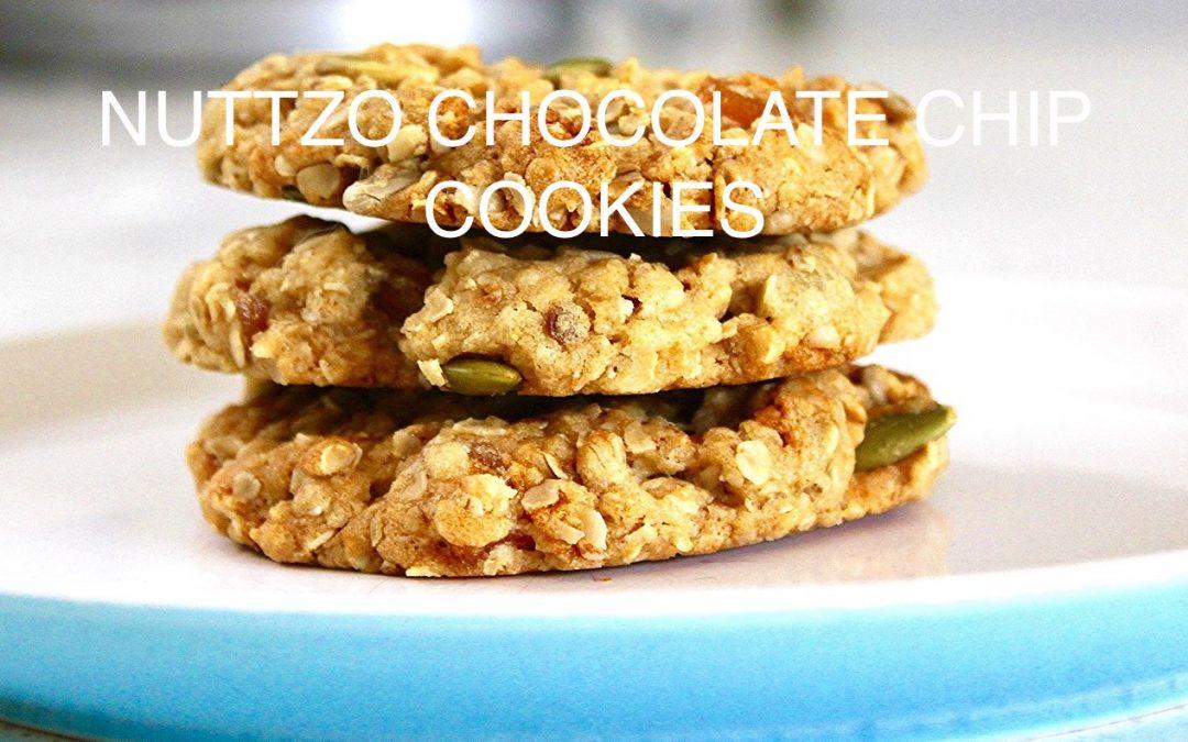 Nuttzo Chocolate Chip Cookies