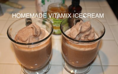 Homemade Vitamix Ice Cream