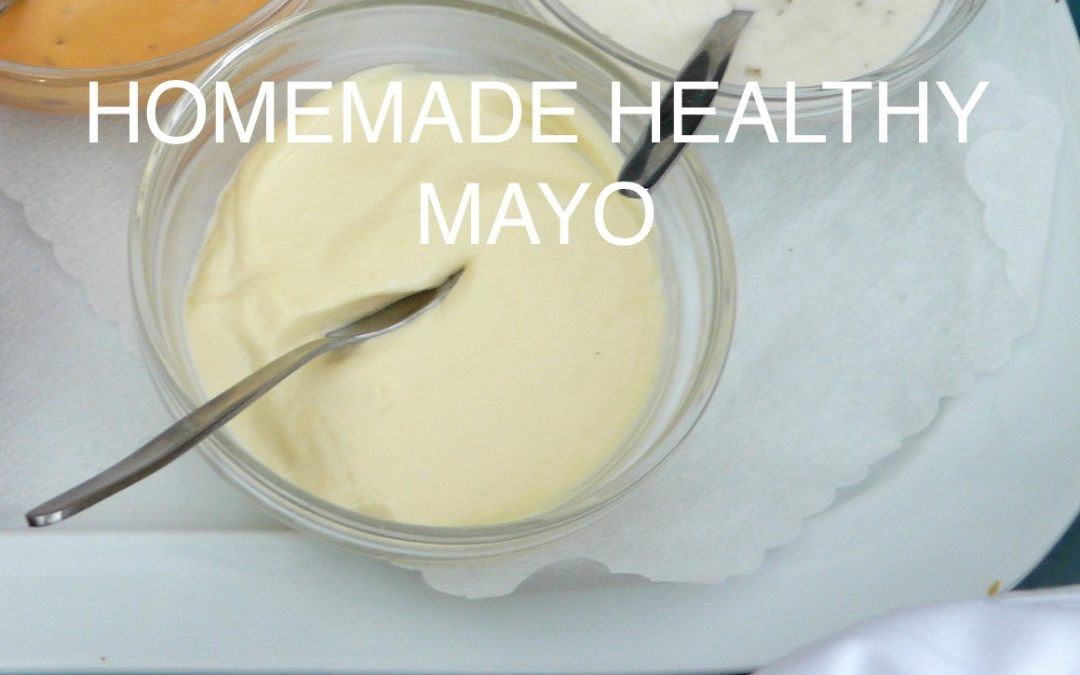 Homemade Healthy Mayo
