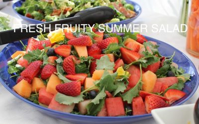 Fresh, Fruity Summer Salad