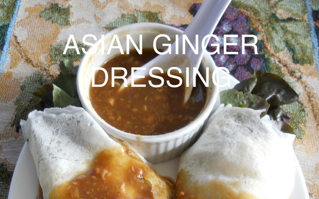Asian Ginger Dressing