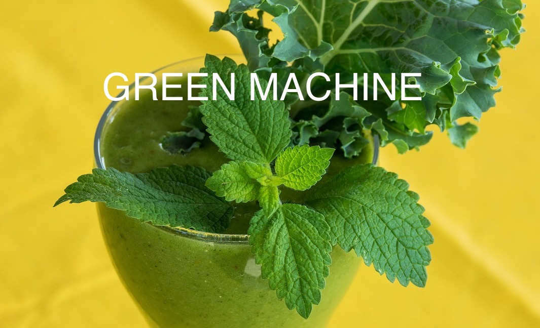 Green Machine Blended Green Juice