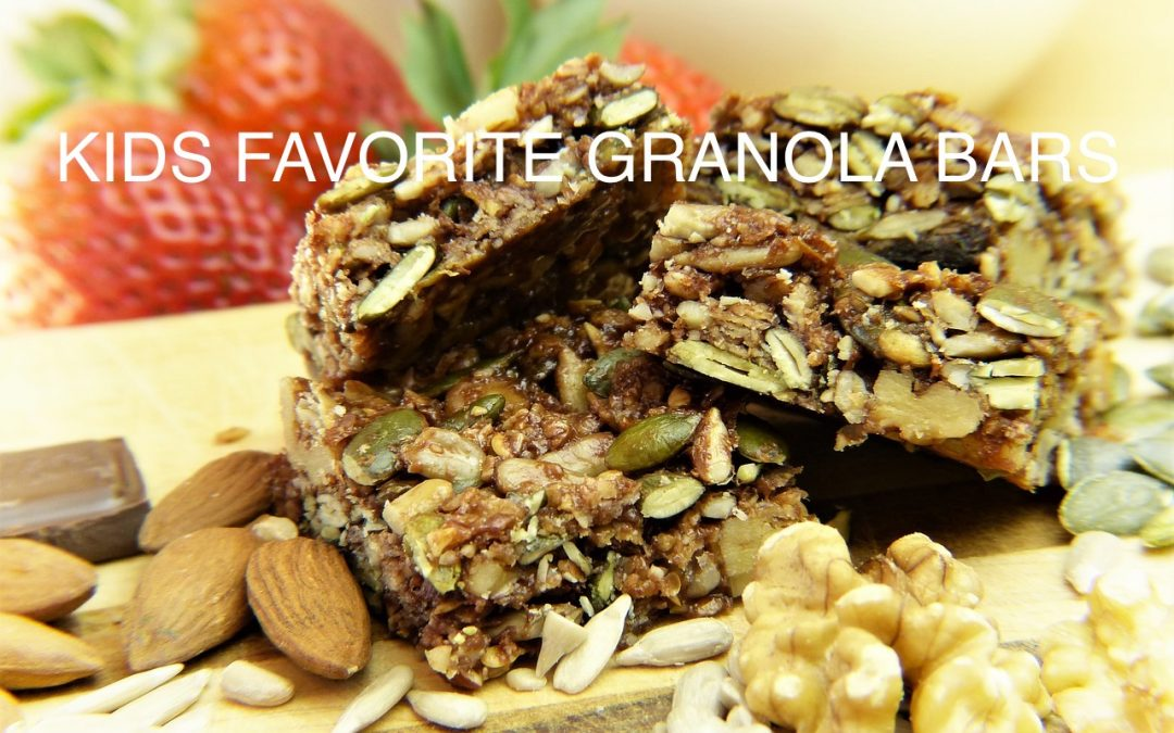Kids' favorite granola bars