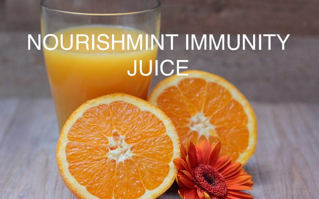NourishMint Immunity Juice