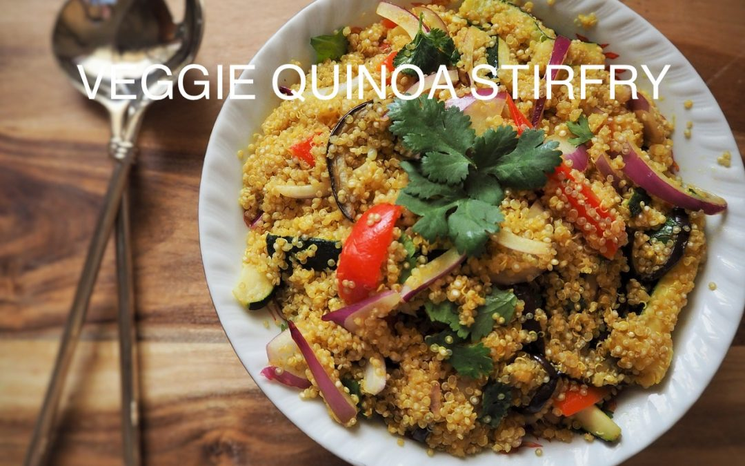 Veggie Quinoa Stirfry