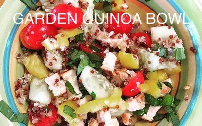 Garden Quinoa Bowl