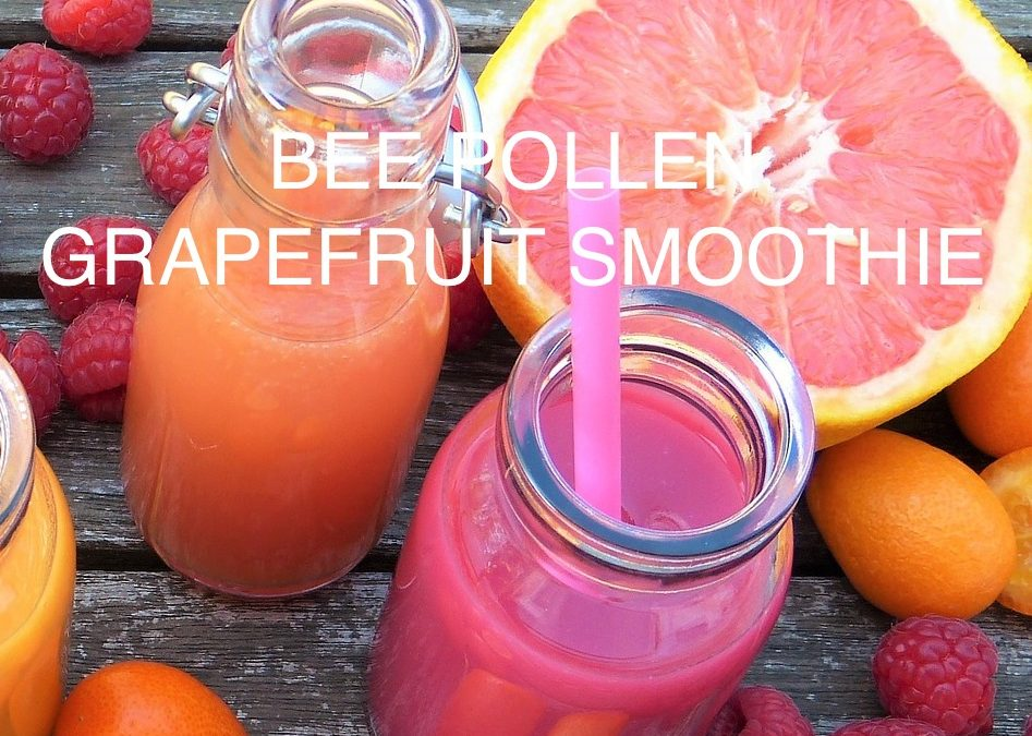 Bee Pollen Grapefruit Smoothie
