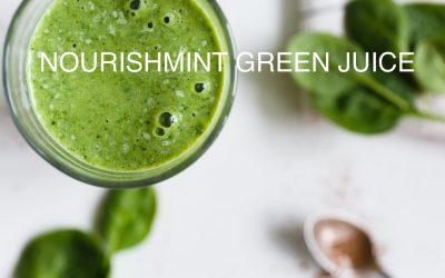 NourishMint Green Juice