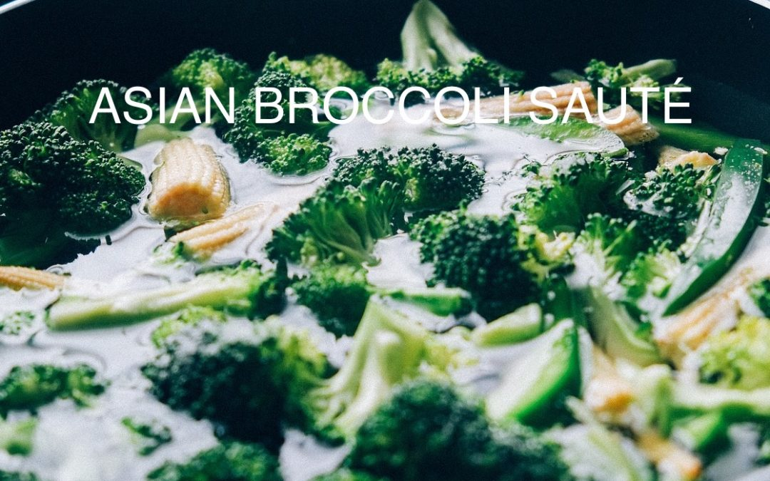 Asian Broccoli Saute