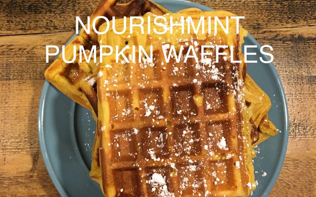 NourishMint Gluten-free Waffles