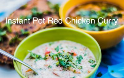 Instant Pot Red Chicken Curry