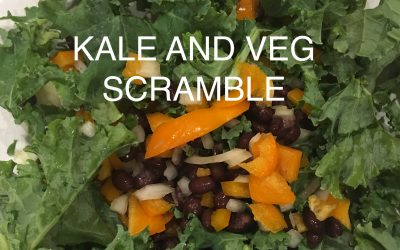Kale and Veg Scramble