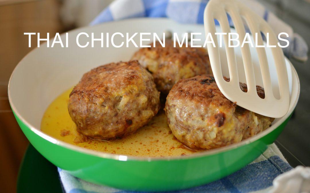 Thai Chicken Meat Balls