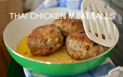 Thai Chicken Meat Balls