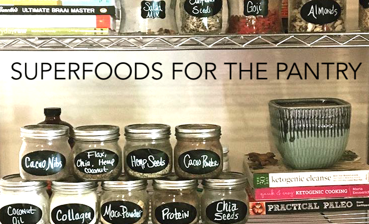 Design your Superfood Pantry