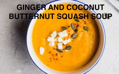 Ginger and Coconut Butternut Squash Soup