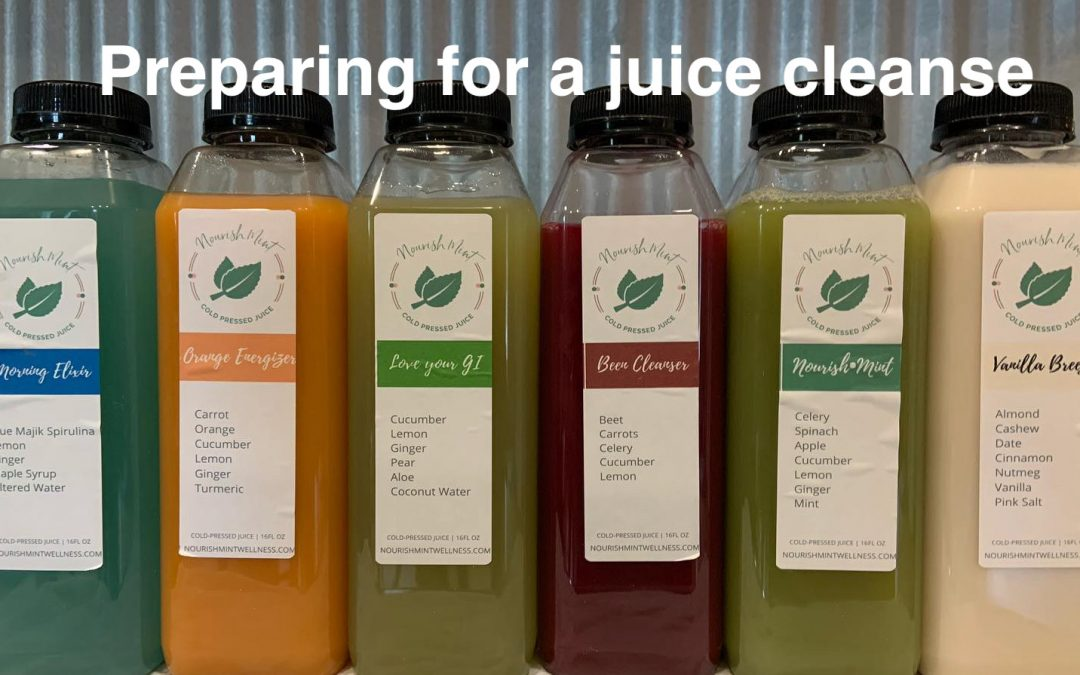 Preparing for a Juice Cleanse